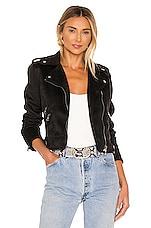 superdown Macey Moto Jacket in Black