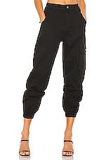 superdown Casey Cargo Pant in Black