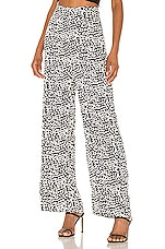 superdown Tracey Wide Leg Pant in Leopard