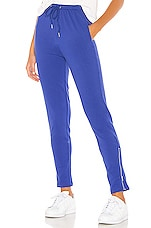 superdown Missy Zip Jogger in Cobalt Blue