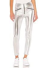 superdown Krystal Cropped Pant in Silver