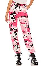 superdown Jada Camo Pants in Pink Camo