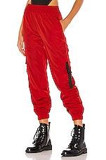 superdown Jorja Windbreaker Pant in Red