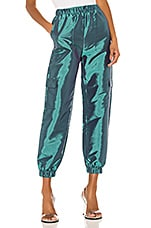 superdown Pia Cargo Pant in Teal