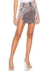 superdown Cherry Slit Mini Skirt in Multi
