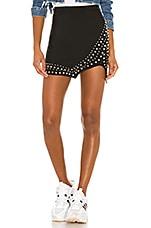 superdown Odelia Mini Skirt in Black
