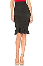 superdown Sammy Flare Skirt in Black