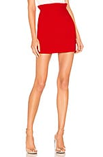 superdown Norma Ruffle Mini Skirt in Red