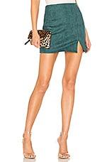 superdown Dillon Mini Skirt in Emerald