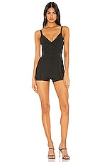 superdown Destiny Bandage Romper in Black