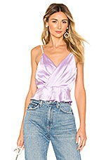 superdown Ventura Surplice Cami Top in Lavender