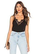 superdown Harlyn Lace Cami Top in Black