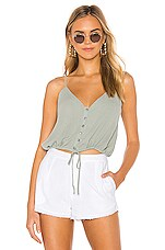 superdown Kimmie Cami Top in Sage Green