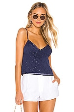 superdown Esther Cami Top in Navy