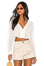 superdown Belinda Button Up Top in White