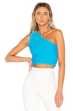 superdown Cassandra Crop Top in Teal