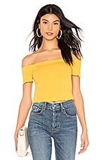 superdown Andrea Frill Top in Yellow