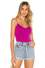 superdown Sadira Bustier Bodysuit in Purple