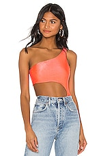 superdown Roxy Cut Out Bodysuit in Coral