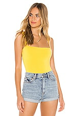 superdown Adrienne Bodysuit in Yellow