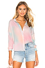 superdown x REVOLVE Miranda Button Up Shirt in Ombre