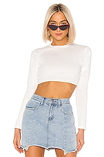 superdown Cynthia Boxy Top in White