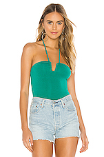 superdown Joey Bodysuit in Teal