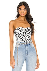superdown Jaylah Top in Black & White