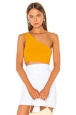 superdown Ellie One Shoulder Top in Marigold