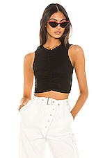 superdown Noura Crop Top in Black