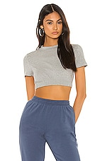 superdown Tabatha Crop Top in Grey