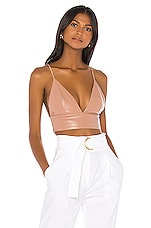 superdown Octavia Strappy Back Top in Nude