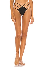 superdown Alana Bikini Bottom in Black