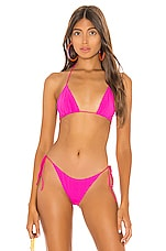 superdown Roxy Bikini Top in Pink