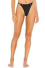 superdown Zena Bikini Bottom in Black