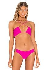 superdown Zana Bikini Top in Pink