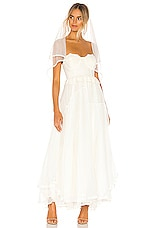 Spell & The Gypsy Collective Zoe Tulle Gown in Off White