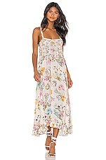 Spell & The Gypsy Collective X REVOLVE Wild Bloom Strappy Dress in Cream