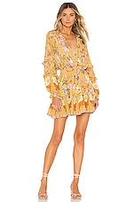 Spell & The Gypsy Collective Wild Bloom Playdress in Mustard