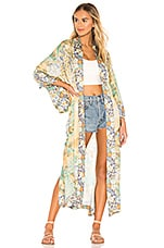 Spell & The Gypsy Collective Willow Maxi Robe in Meadow