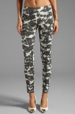 Spell & The Gypsy Collective Motley Crew Legging in Tye Dye Charcoal