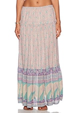 Spell & The Gypsy Collective Xanadu Maxi Skirt in Opal