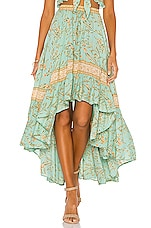 Spell & The Gypsy Collective Maisie Skirt in Vintage Turquoise