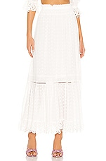 Spell & The Gypsy Collective Daisy Chain Maxi Skirt in White