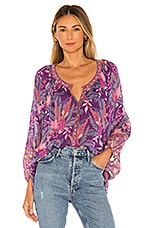 Spell & The Gypsy Collective Bianca Blouse in Wisteria