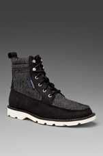 x Penfield Shipyard Rigger Boot in Black/Herringbone