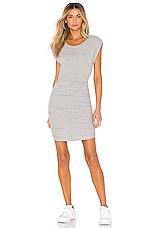 Splendid Casing Detailed Dress in Heather Grey