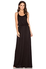ROBE MAXI MIDNIGHT