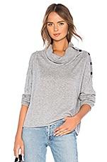 Splendid Runyon Sweater in Heather Grey