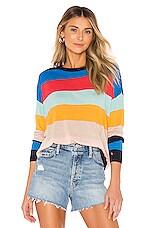 Splendid x Gray Malin Sunray Sweater in Bonfire Multi